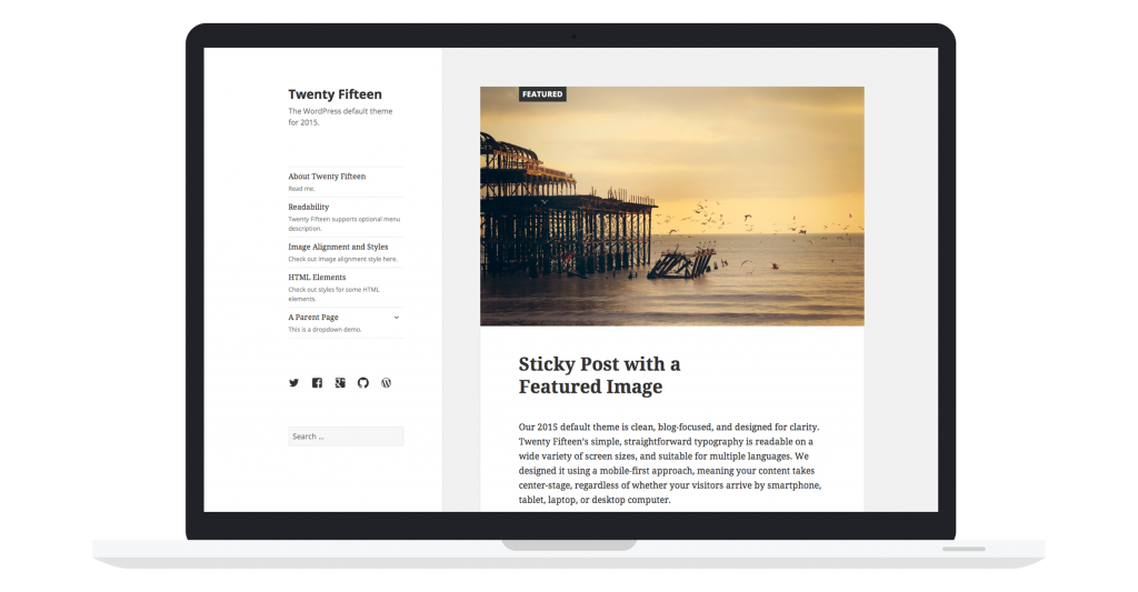 twenty-fifteen-theme wordpress theme 4.1